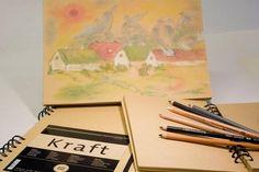Kraft Paper skissebok fra Hahnemühle - Torso Kunstartikler