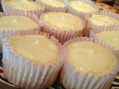 Yellow Cheesecake Cupcakes Dukan Diet Recipe