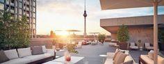 """Erster neuer Wohnturm am Alex: Das """"Grandaire"""" bietet 260 Wohneinheiten auf 20 Etagen. Grafik:Juan Cequera/Strategis http://www.tagesspiegel.de/wirtschaft/immobilien/erster-neuer-wohnturm-am-alex-20-etagen-260-wohnungen-nobel-wie-bel-air/14828882.html"""