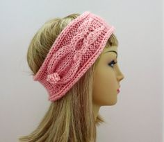Hat Headband Knitting Pattern Bunny Rabbit  by WomanOnTheWater