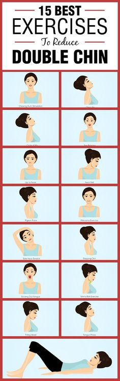5 Amazing Tips To Get Rid Of Double Chin