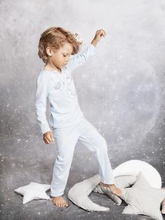 There are sets for boys nightwear and girls at Amiki for fall/winter 2014