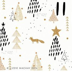 Glittery fox in a snowy forest, what's not to love! #advent #glitter #fox #letitsnow #walkinginawinterwonderland