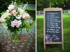 Good time line  Southern Chic Cedarwood Wedding Design Details | Historic Cedarwood | All Inclusive Designer Weddings