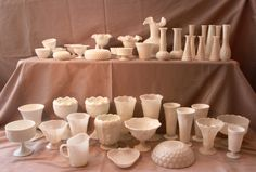 Milk Glass Collection to date