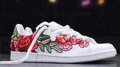 These Floral Sneakers Are For Girly Girls