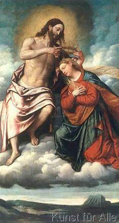 Moretto da Brescia - Coronation of the Virgin