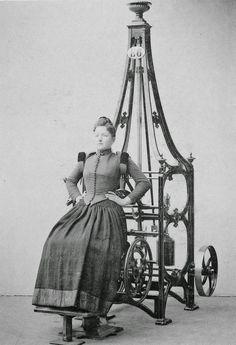 Victorian era exercise machine...