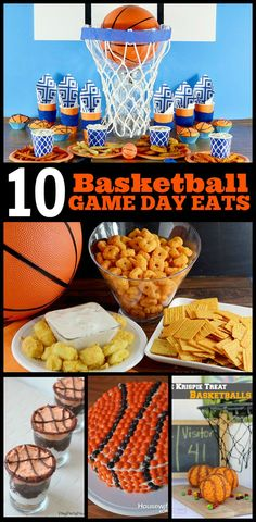 10 Basketball Game Day Eats for #MarchMadness! | www.foodfolksandfun.net | #gamedayeats