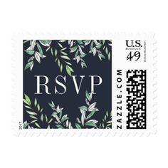 Winter Sage | Wedding RSVP Postage