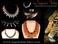 ♛ THIS WEEK ONLY - SAVE OVER 10% ON SELECT VINTAGE NECKLACES ♛  www.JaguarIsle.Etsy.com