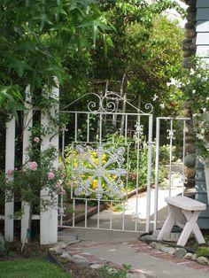 My Painted Garden: Garden Gate