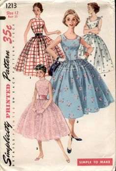 ....let's bring this back.....sewing AND full skirts and tiny waists.