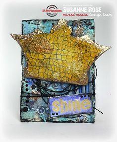 Susanne Rose - Papierkleckse: Art Marks - STAMPlorations Blog Hop