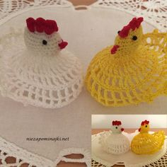 Crochet Hen / chicken- table decoration or unique gift. by Niezapominajkinet on Etsy