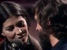 Help me make it through the night. Kris Kristofferson & Rita Coolidge. Pretty...and these two were so cute together.