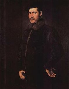 A Man, ca. 1550   (Tintoretto) (1518-1594)   Christ Church Picture Gallery, Oxford University,  UK