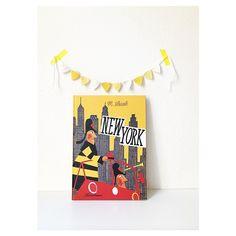 This is New York + mini garland Suniko Little Ones, Garland, New York, Mini, Instagram Posts, Books, New Books, New York City, Libros