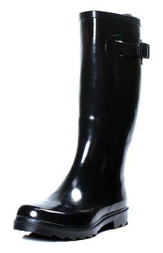 Women's Wellie Boots. Rubber