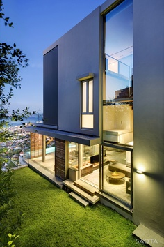 SAOTA ...love the openess of the windows but wish there was a way to have them and still have privacy.