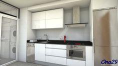 Cocina estrecha y corta   Decorar tu casa es facilisimo.com