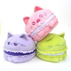 Purrista Pawfee: Cute Mewcaron Kitty Cat Plush