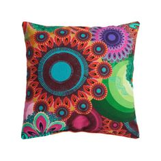 Discover the Desigual Small Orange Cushion at Amara