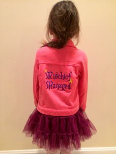Harry Potter Hogwarts kids jacket size 3T by OffTheHookbyLora, $16.99