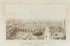 1879 - Segundo projeto do aterro da rua Direita ao Morro do Chá. De Jules Martin (1832-1907).