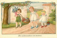 Pauli Ebner (1873-1949) — Old   Post Cards (910x601)