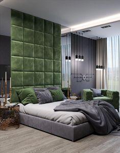 Design Living Room, Bedroom Bed Design, Modern Bedroom Design, Contemporary Bedroom, Modern Bedrooms, Contemporary Office, Simple Bedroom Decor, Stylish Bedroom, Home Decor Bedroom