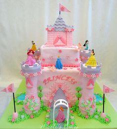 easy castle cake ideas | Princess Belle Cake Easy Birthday Cakesbirthday Ideas Pictures