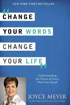 Love this book! Joyce Meyer's teachings are practical and contain Godly wisdom. ''Change Your Words, Change Your Life - Understanding the Power of Every Word You Speak'' by Joyce Meyer Joyce Meyer Books, Joyce Meyer Quotes, Good Books, Books To Read, My Books, The Words, Believe, Learn Hebrew, Thing 1