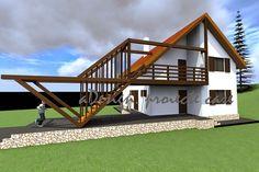 proiecte case, constructii, design: Pensiune  var 1 si var 2, cod 02Ps