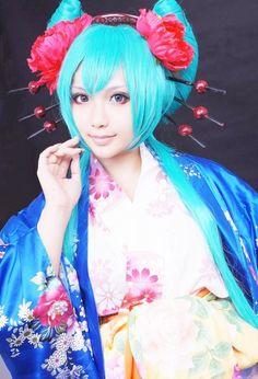 VOCALOID: HatsuneMiku (KIMONO)