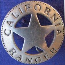 California Ranger Badge