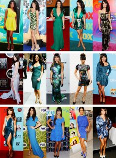 Lea Michele + fashion