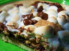 smores pizza-yummy