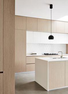 Kitchen design decor - 2019 Interior Design Trends Part Two – Kitchen design decor Minimalist Kitchen, Minimalist Interior, Minimalist Decor, Modern Interior Design, Home Design, Interior Architecture, Minimalist Design, Minimalist Style, Minimalist House