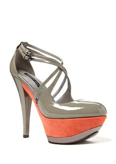 thinking i'm loving the coral and grey... just so i can wear these shoes hahaha