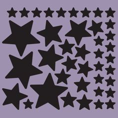 Stars Magnetic Decals #magnormous #kidsbedroomideas Kids Bedroom, Silhouettes, Magnets, Decals, Stars, Tags, Sticker, Silhouette, Decal