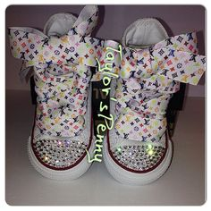 50cc53a3f623 28 Top Bling Convese  Sparkly Converse  Themed Custom Sneakers ...