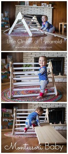Movement is so important for babies and toddlers, and the Lily & River Little Climber is the perfect way to support gross motor development with a Montessori baby
