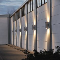 House Wall Design, Garden Wall Lights, Recessed Lighting Fixtures, Small Solar Panels, Light Emitting Diode, Outdoor Areas, White Light, Light Colors, Pergola