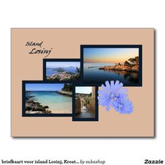 briefkaart voor island Losinj, Kroatië, Photo, tourism, Europe, Croatia, Croatian, Adriatic sea, Adriatic , Mediterranean, Istrie, Kvarner, Losinj, island Losinj, island, otok Losinj, eiland Losinj, vacation, travelling, journey, holiday, holidays, holiday, voyage, reizen, vakantie, Kroatie, postcard, postcards, design,  Originele postkaarten voor het eiland Losinj in Kroatië met een heel nieuw design. Ook verkrijgbaar ZONDER TEKST zodat je ze kan personaliseren