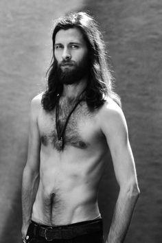 ...I like guys with long hair.