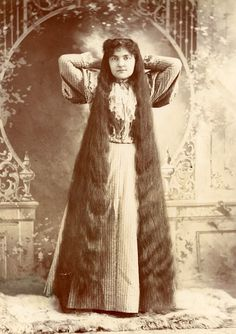 Long Hair vintage hair