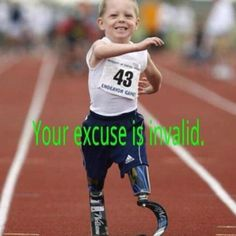 Get out and get stuff done. Your excuse is invalid.