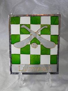 Items similar to Limerick G.A Hurling window decoration * Ready to ship * on Etsy Charts, My Etsy Shop, Windows, Decorations, Unique Jewelry, Frame, Handmade Gifts, Check, Vintage
