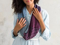 Hone your striping skills with these mini skein packs of coordinating hues.